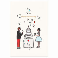 COUPLE PARTY | Cake card