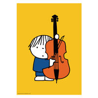 DOUBLE BASS | Miffy A2 poster