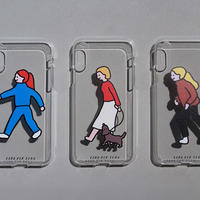 PHONE CASE (JELLY CASE) - WALK WALK series / for iPhone X|XS(受注生産商品)