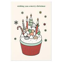 CUPCAKE   Christmas card