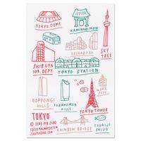 TOKYO hand | Postcard