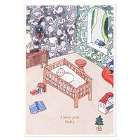 BABY   Cake card