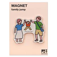 FAMILY JUMP   Magnet