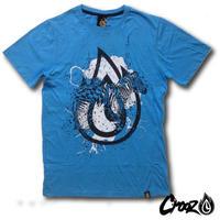 CROOZ  / ゼブラ・ペイント Tシャツ