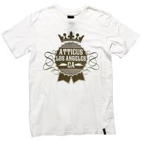 ATTICUS / クラウンTシャツ(WHITE)
