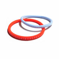 Survive Said The Prophet / HAIR TIE (NEON ORANGE & LIGHT BLUE)
