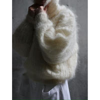 80S LONG HAIR MOHAIR SWEATER