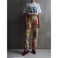 "80S FRANCE ""KENZO"" FLOWER PANTS"