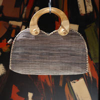 RAFFIA SMALL HAND BAG