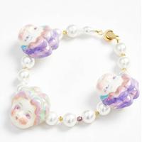 Macaron Doll Pink Handmade Bracelet-マカロンドール・ブレスレット-