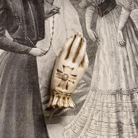 貴婦人の手(象牙色)