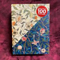 ウィリアムモリス『モダンデザイン』ポストカード100枚セット