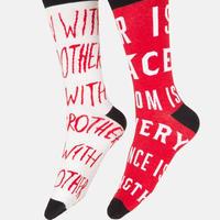 George Orwell / 1984 Mismatched Socks(ジョージ・オーウェル 1984ソックス)