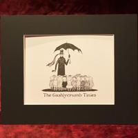エドワード・ゴーリー 『ギャシュリークラムのちびっ子たち』プリント作品
