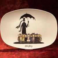 エドワード・ゴーリー 『ギャシュリークラムのちびっ子たち』プレート皿