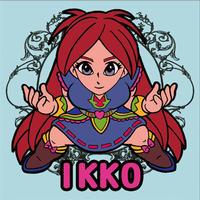 第1弾【鏡のアッコちゃん】「IKKOイッコ」(ノーマル)