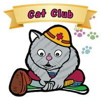 【海外版】キャッツオブサードストリート「cat club」(ノーマル)