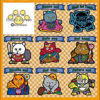 【海外版】キャッツオブサードストリート(金プリ)全8枚