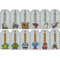 第1弾 妖怪レスラー【お札】(キラプリズム)全12種