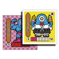 第1弾 妖怪レスラー【シール版】(桃プリ・ピンク) 一つ目小僧(一つ目マン)