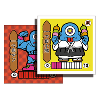 第1弾 妖怪レスラー【シール版】(赤プリ・レッド)一つ目小僧(一つ目マン)