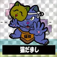 第2弾・三丁目のニャンコ「猫だまし」(柄プリズム)