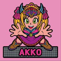 第2弾【鏡のアッコちゃん】「武装AKKOアッコ」(ノーマル)