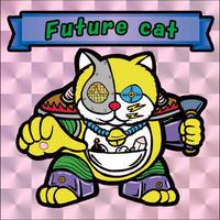 【海外版】キャッツオブサードストリート「future cat」(桃プリズム)