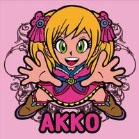 第1弾【鏡のアッコちゃん】「AKKOアッコ」(ノーマル)