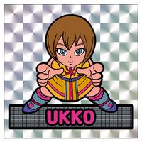 第1弾【鏡のアッコちゃん】「UKKOウッコ」(銀プリ版)