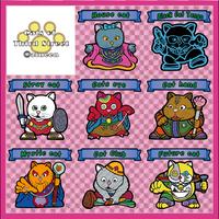 【海外版】キャッツオブサードストリート(桃プリ)全8枚