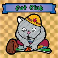 【海外版】キャッツオブサードストリート「cat club」(金プリズム)