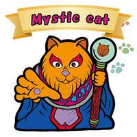 【海外版】キャッツオブサードストリート「mystic cat」(ノーマル)