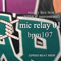 """mic relay 01"" BPM107 ZIPSIES royalty-free beat ""2019"""