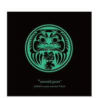 """emerald green""(6曲)  ZIPSIES royalty-free beat ""OLD"""