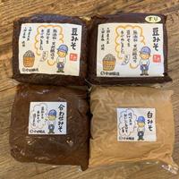 1kg袋詰味噌