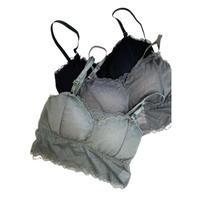 stretch lace bra top B【St015-B】