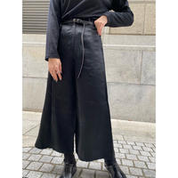 euro vintage satin wide pants [Vp104]