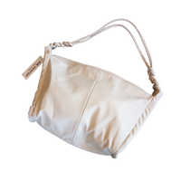 one-shoulder tote bag -cream-【Si081-CRM】