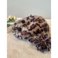 vintage fur beret [Vi269]