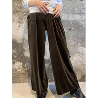vintage velours pants  [Vp140]
