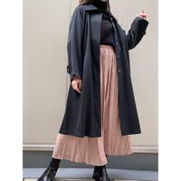 black long coat [Vo043]