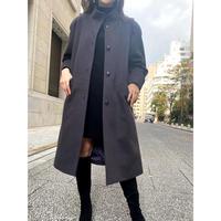 vintage brown long coat [Vo065]