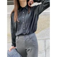 euro vintage blouse [Vt089]