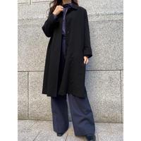 euro vintage black  coat [Vo038]