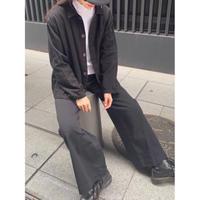 ③men's blacking work shirt [Vj043]