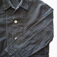 men's balacking work shirt【white stitch】[Vsl006]