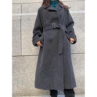 gray super  long coat [Vo044]