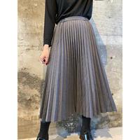 vintage pleats skirt  [Vs052]
