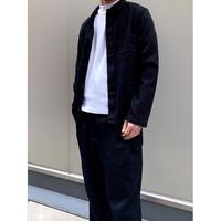 ⑤men's blacking work shirt [Vj045]